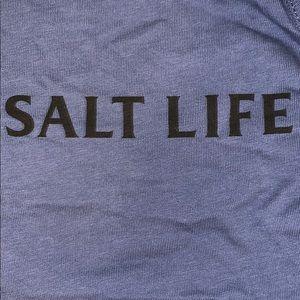 Salt Life Shirts - Blue Salt Life Tank (Men's)